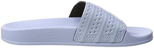 adidas Adilette, Mocassini Uomo Blu (Easy Blue/easy Blue/easy Blue)