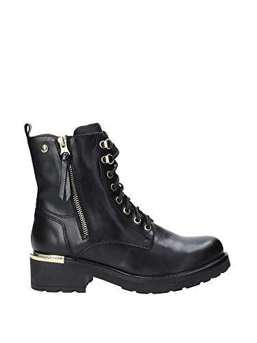 NERO GIARDINI Zapatos Anfibios de Mujer A901350U / 100 Talla 36 Negro