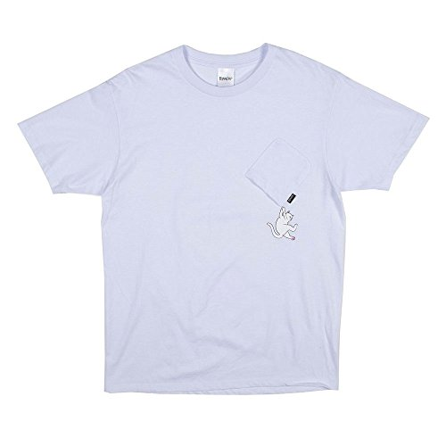 RIPNDIP Shirt Hang in There Nermal Pocket White