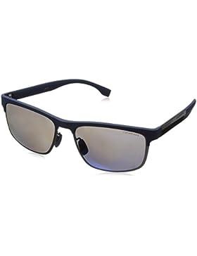 Boss 0835/S 5X, Gafas de Sol Unisex, Bluecrbnblue, 58
