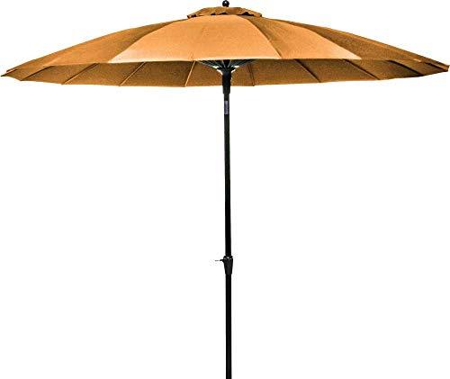 Parasol en Fibre de Verre Pagode 300 cm