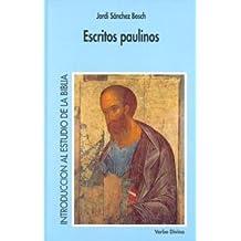 Escritos paulinos (Introducción al estudio de la Bíblia)