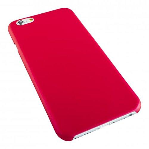 ECENCE APPLE IPHONE 6+ 6S+ PLUS (5,5) SLIM CASE SCHUTZ HüLLE HANDY TASCHE DüNN FLACH LEICHT COVER SCHALE 32030406 Rot