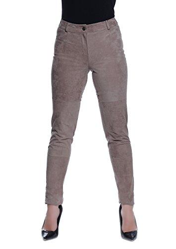 Alba Moda -  Pantaloni  - Attillata  - Donna Beige 42