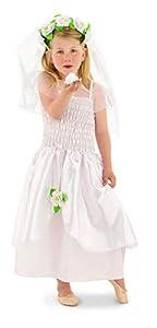 Folat 21859-Juego de niños de tamaño Vestido de Novia (tamaño pequeño, 2Piezas)