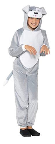 Smiffys SMIFFY 'S 49729M Hund Kostüm, grau, M-UK Alter 7-9Yrs
