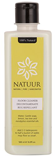 NATUUR Floor Cleaner - Natural Sterilizing - Heavy Duty - With Eucalyptus 500 ml (Clear)