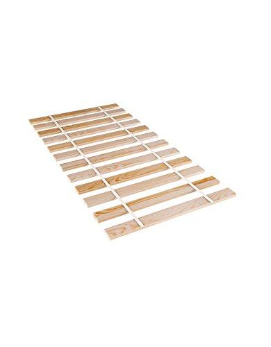 Amazinggirl 80x200 Rollrost Holz Kiefer Lattenrost rollrost stabil hochbett Leisten Latten unverstellbar für alle Matratzen und Kinderbetten geeignet (80x200)