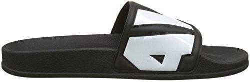 G-STAR RAW Damen Cart Slide II Sandalen Schwarz (Black/white 964)