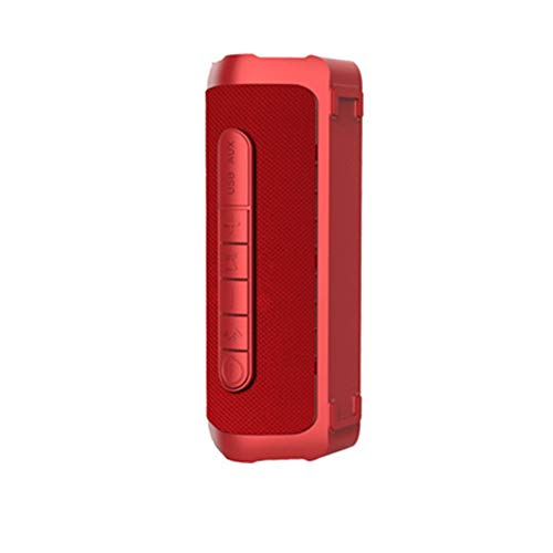 Dajie Lautsprecher Drahtloses Bluetooth Mini Tragbares Gewebe Im Freien Wasserdichter Subwoofer Rot - Im Rot-gewebe Freien