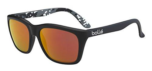 bollé 527 Sonnenbrille Erwachsene 527 Matte Black Camo Polarized Fire oleo AR