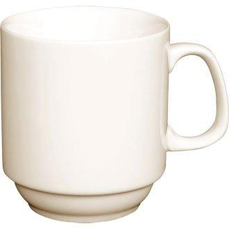 Elfenbeinfarbenes Tafelgeschirr Porzellan, stapelbar, stapelbar, für Tee, Kaffee, Tasse, 10 ml (Box 12) ein stilvolles Geschirrset für Zuhause oder die professionelle Einrichtung Oval-relish