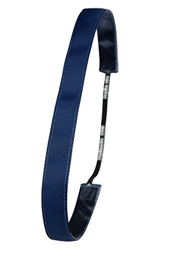 Ivybands Anti-Rutsch Haarband Dunkel, Blau, One size, IVY227