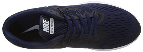 Nike Zoom Winflo 4, Scarpe da Running Uomo Multicolore (Binary Blue/White/Black/Deep Royal Blue)