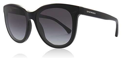 Emporio Armani Damen Sonnenbrille 0EA4125, Schwarz (Black), 61