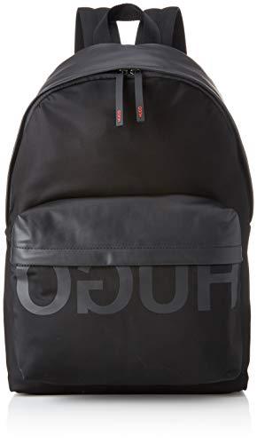 HUGO Herren 50402920 Rucksack, Schwarz (Black) 16x44x30 cm (Hugo Boss Schuhe Herren Schwarz)