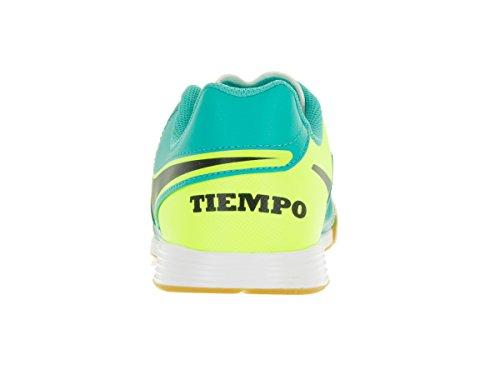 Nike Jr Tiempox Legend Vi Ic, Chaussures de Foot Mixte Bébé Vert - Verde (Clear Jade / Black-Volt)