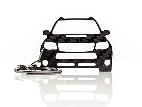 BlackStuff Llavero De Fibra de Carbono Cadena De Claves Compatible con Subaru Forester SH 2008-2012 BS-819