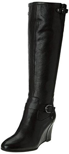 Geox D Ultraviolet Damen Stiefel & Stiefeletten Schwarz - Schwarz (Black)