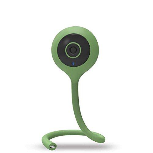 Wireless Baby Monitor, 720 P HD Überwachungskamera mit Tilt/Zoom, Zwei-Wege-Intercom Musik Temperatursensor Baby Weinen Überwachung Smart Kamera