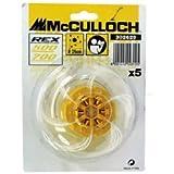 McCulloch cabeza para cortabordes Rex 700