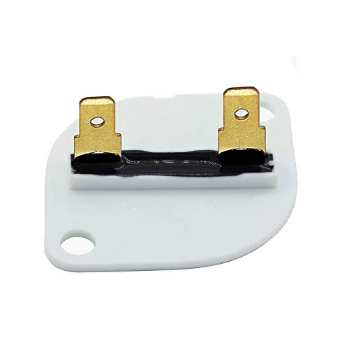 OxoxO Replace 3390719 Dryer Thermal Fuse Exact for Whirlpool & Kenmore Dryer Replace 688841 690198 279650 3389639 279650 3389639 3389640 3390719 660877 688841 (1 Pack) -