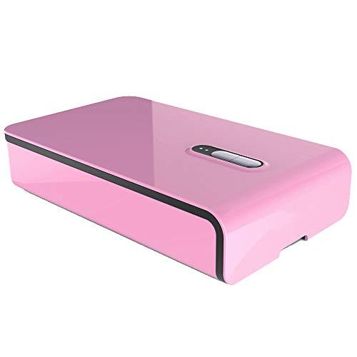 UV-Sterilisator Tragbar UV-Licht Sterilisation Telefon Unterwäsche Desinfektion Für Zuhause Und Reisen,Pink