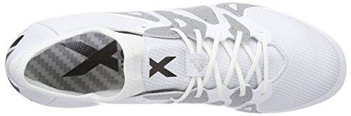 adidas  X15.1 FG/AG, Chaussures de football homme - weiß / silber