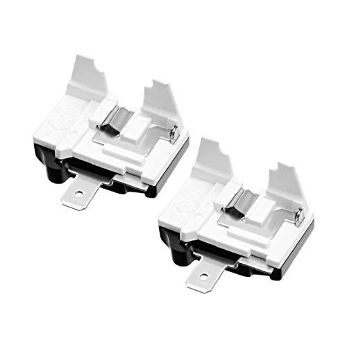 Sourcingmap 2 PCS 4,7-33 Ohm 4-Pin Kühlschrank PTC Starter Relais schwarz 1/6HP(125W),2 Pcs - Ptc-pc