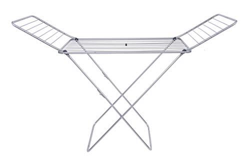 Gimi Alucom Aluminium & Steel Dryer Stand, Silver