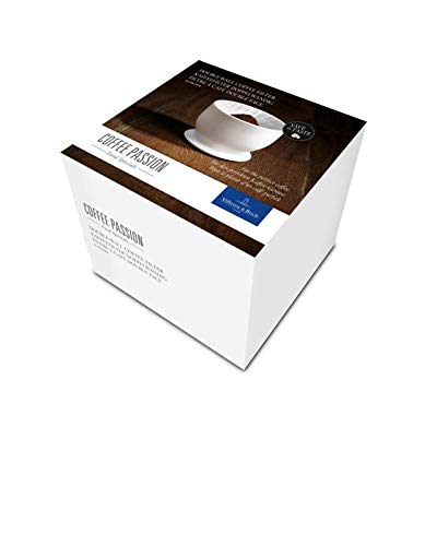 Villeroy & Boch Coffee Passion Kaffeefilter, 11,5 cm, Premium Porzellan, Weiß
