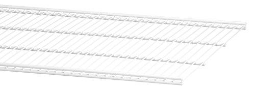 ELFA 45051090x 40mm Draht Regal Klammern–Weiß (Draht Regal Klammern)
