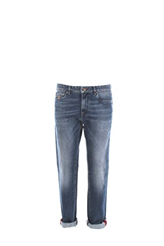 Jeans Uomo Henry Cotton's 42 Denim 12498 90 24534 Autunno Inverno 2016/17
