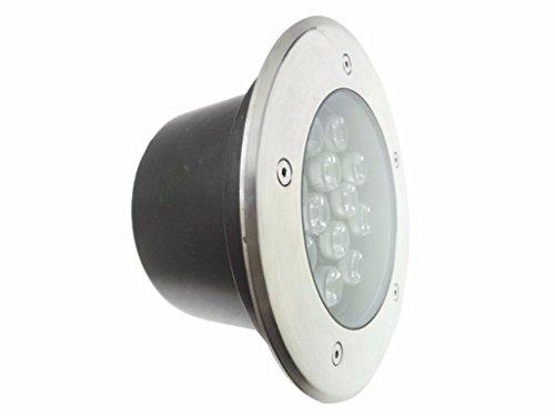 Silamp - Spot Extérieur Encastrable LED IP65 220V Sol 18W 60 - couleur eclairage : Blanc Neutre 4000K - 5500K