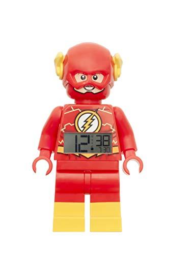 LEGO Reloj Despertador, Rojo, 9 Pulgadas