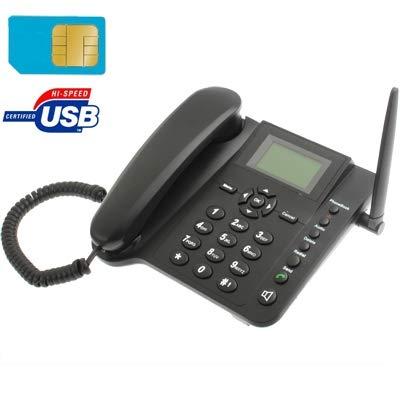 TELEFONO CON SIM CARD GSM FISSO DA TAVOLO SCRIVANIA TIM VODAFONE WIND QUADBAND