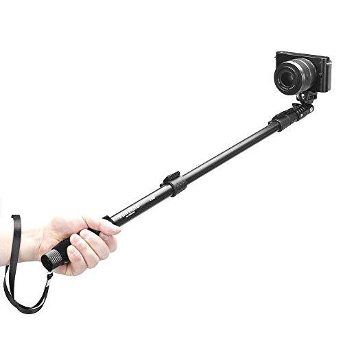 YWSZY Tragbare Skalierbare Selfie Stick Stativ Einbeinstativ Adapter Für iPhone X Samsung Huawei Smartphone Sony Gopro Digitale SLR Kamera @ A Alloy Digital Kamera