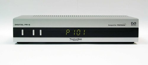 TechniSat Digital PR-S, Digitaler Sat-Receiver mit integriertem Premiere Zugangssystem und Smartcard-Leser Premier Digital Receiver