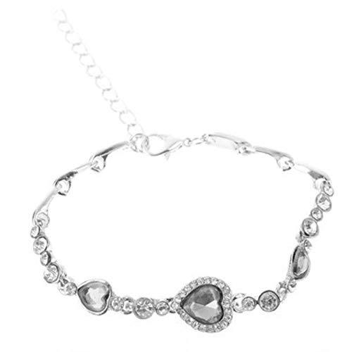 Simple Pearl Bracelet Damen Flash Stone Acryl Armband Sen Student Star Moon Zirkon Handmade Women
