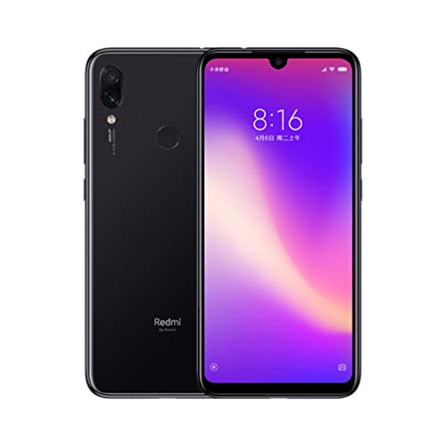 Versión Global Xiaomi Redmi Note 7 Pro 6GB 128GB Phone Octa Core 6.3 Inch -Negro