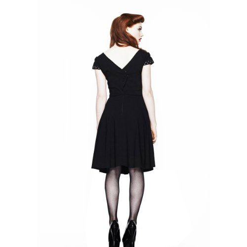 Hell Bunny - Robe -  Femme Noir - Noir