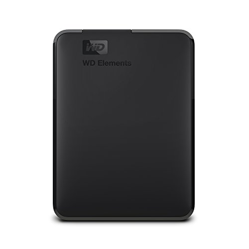 WD Elements Disque Dur Portable Externe - USB 3.0 2TB Noir
