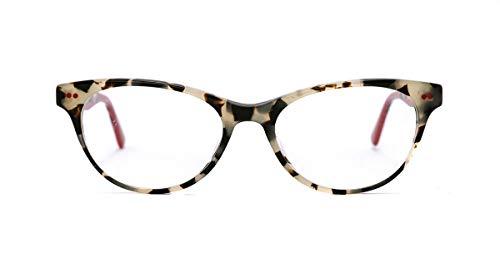 Etnia barcelona occhiali da vista florentin 17 light havana red donna