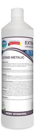 Arcora 01201 Extend Metallic Langanhaltende Fussbodenbeschichtung, 1 L