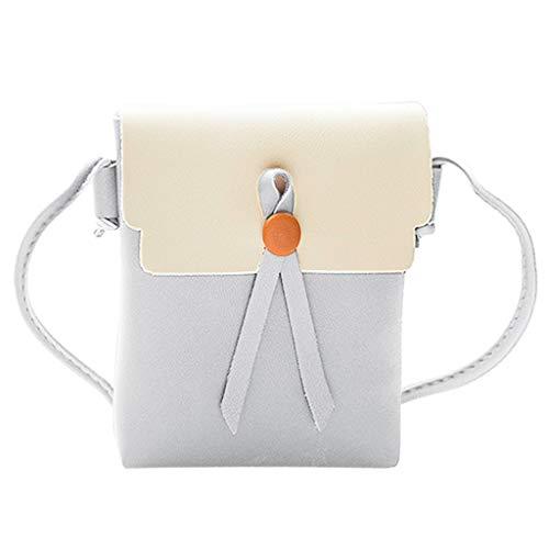 Allzweck-taschen (Damenmode handtaschen umhängetasche frauen einfache allzweck kleine quadratische tasche einzelne schulter messenger bags)