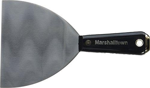 """Marshalltown M5753 5"""" Flexibles Fugenmesser-Breites Ende-Plastikgriff, Silber"""