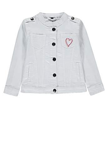 Marc O' Polo Kids Mädchen Jeansjacke 1/1 Arm Jacke, Beige (Vanilla Ice|Beige 1790), 116