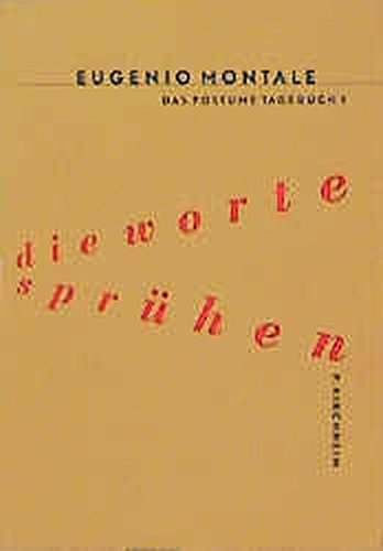 Preisvergleich Produktbild Das Posthume Tagebuch / Die Worte sprühen