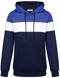 1567c62e8e10 Sweat à Capuche- Shiva – Sweat-Shirt à Capuche Homme Tricolore Manches  Longues –