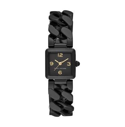 Marc Jacobs Vic Casual Time Only Black Stainless Steel Ladies Watch MJ3604